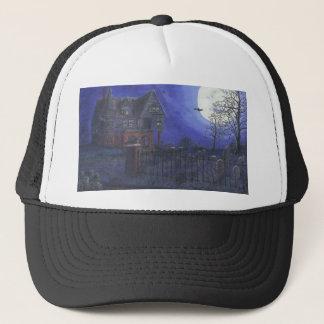 Fernlastfahrer-Hut - Spuk Haus-Bild Truckerkappe