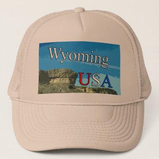 Fernlastfahrer-Hut Wyomings USA Truckerkappe