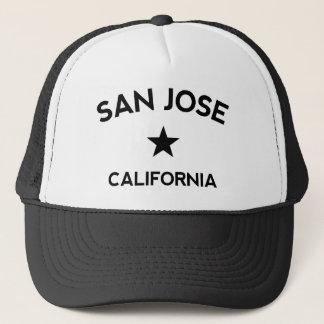 Fernlastfahrer-Kappe San Jose Kalifornien Truckerkappe