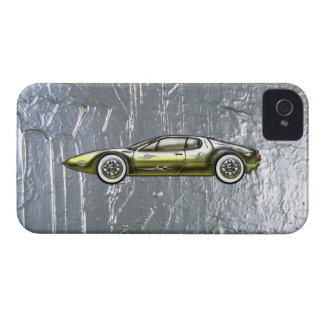 Ferrari-Sport-Auto-kundenspezifisches Gold und iPhone 4 Hüllen