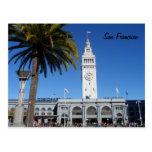Ferry construisant San Francisco Carte Postale