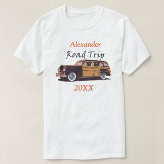 Fertigen Sie Autoreise-T-Shirt besonders an T-Shirt