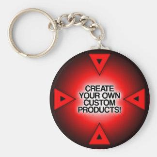 Fertigen Sie besonders an,/personifizieren Standard Runder Schlüsselanhänger