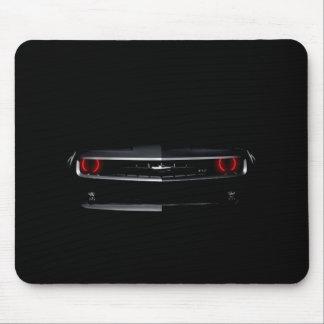 Fertigen Sie cooles schwarzes Chevy Camaro Mousepad