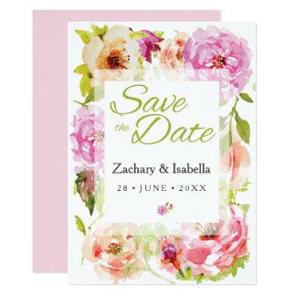 Fertigen Sie diese hübsche Save the Date Einladung