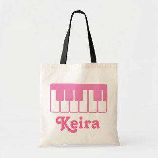 Fertigen Sie eine Klavier-Musik-Taschen-Tasche bes Tragetasche