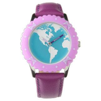 Fertigen Sie einzigartige coole niedliche Kinder Uhr