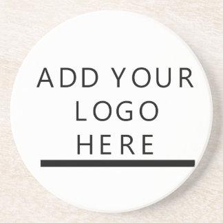 Fertigen Sie - Entwurf - addieren Ihr Logo Untersetzer