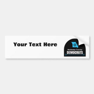 Fertigen Sie Ihre eigene Mitteilung besonders an: Autoaufkleber