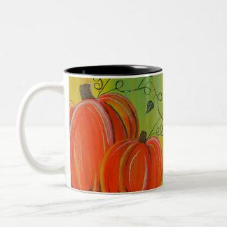 Fest der Ernte Zweifarbige Tasse