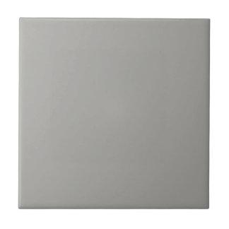 Feste hellgraue Keramik-Fliese Kleine Quadratische Fliese