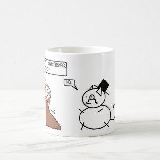 Feste Katze Kaffeetasse
