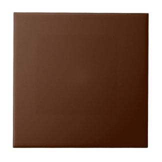 Feste schokoladenbraune Keramik-Fliese Kleine Quadratische Fliese