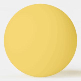 Fester gelber FarbPingpong-Ball Tischtennis Ball
