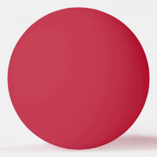 Fester rote FarbPingpong-Ball Tischtennis Ball