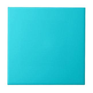 Festes Aqua-blaue Keramik-Fliese