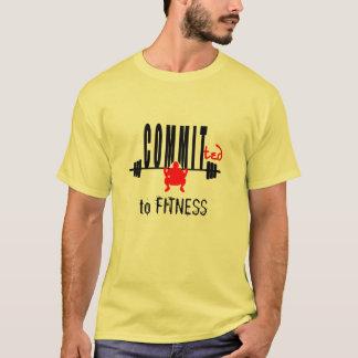 Festgelegt an der FITNESS T-Shirt