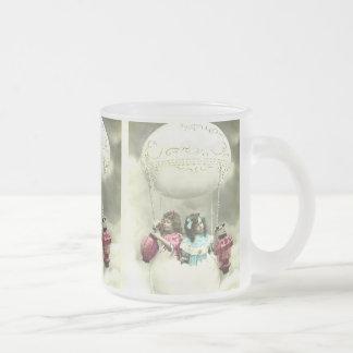 Festive vintage fantasy easter motive mattglastasse