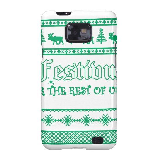 FESTIVUS Weihnachten Galaxy S2 Cover