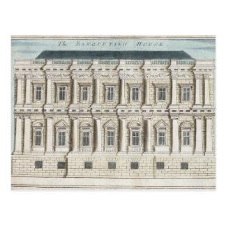 Festlich bewirten des Hauses, Whitehall Postkarte