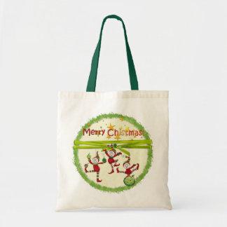 Festliche Elf-Weihnachtsgeschenk-Taschen Tragetasche