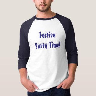 Festliche Party-Zeit! Raglan-T-Shirt T-Shirt
