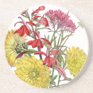 Festliche Sring Blumengeschenke Getränkeuntersetzer