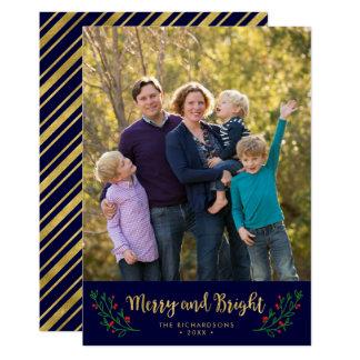 Festliches Laub-fröhliches und helles 12,7 X 17,8 Cm Einladungskarte