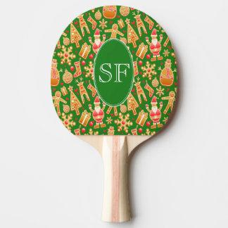 Festliches Sankt- und Tischtennis Schläger