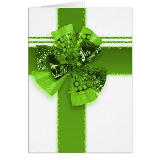 Festliches St. Patrick Motiv Karte