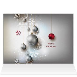 Festtages-frohe Weihnacht-Karte Karte