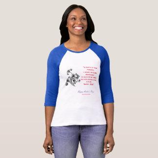 Fête des mères heureuse t-shirt