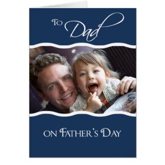 Fête des pères - carte photo