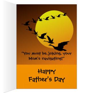 Fête des pères de Hilaríous Carte De Vœux