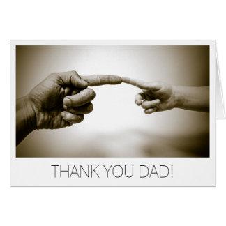 Fête des pères de papa de Merci Carte De Vœux