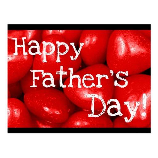 Fête des pères heureuse ! cartes postales