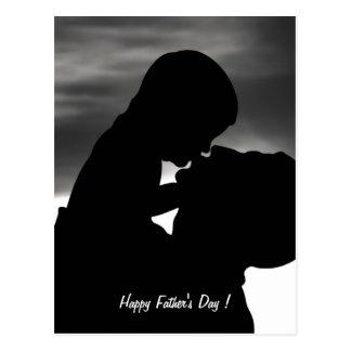 Fête des pères heureuse ! - cartes postales