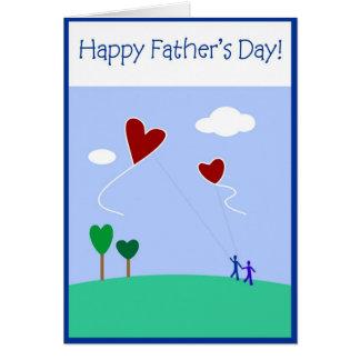 Fête des pères - père carte de vœux