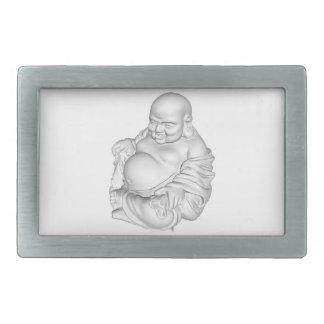 Fette Steingürtelschnalle buddhas Rect Rechteckige Gürtelschnallen