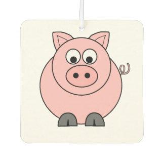 Fettes rosa Schwein Autolufterfrischer