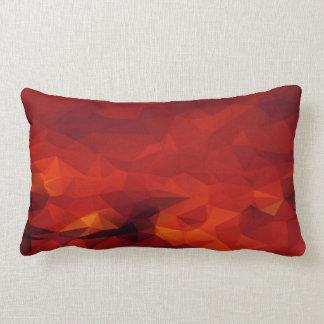 Feuer-abstraktes lumbales Kissen