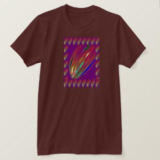 FEUER-AUFFLACKERN von Flugobjekt-UFO T-Shirt