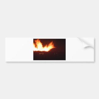 Feuer Autoaufkleber