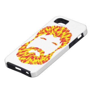 Feuer-Bart iPhone 5 Schutzhüllen
