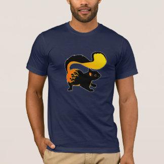 Feuer-Eichhörnchen T-Shirt