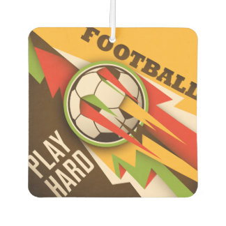 Feuer-Fußball-Fußball-Sport-Ball Autolufterfrischer