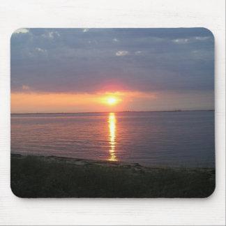 Feuer-Insel-Sonnenuntergang Mousepad