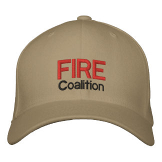 FEUER Koalitions-Hut Bestickte Kappe