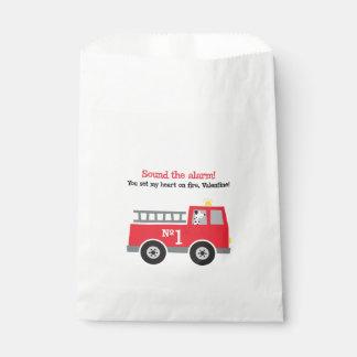Feuer-Motorvalentine-Bevorzugungs-Taschen Geschenktütchen