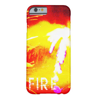 Feuer, Orange, Gelb und Rot Barely There iPhone 6 Hülle